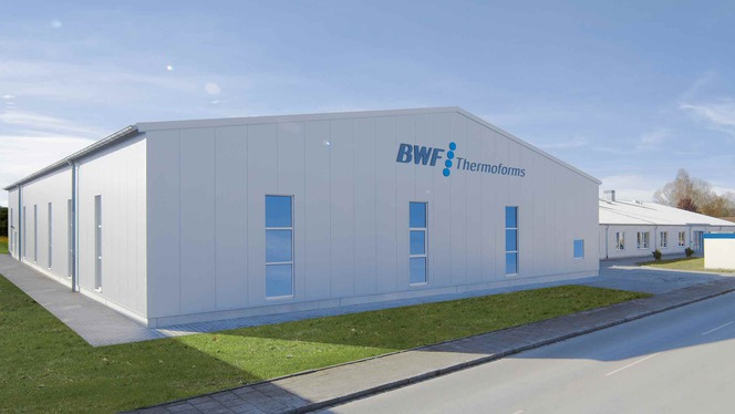 BWF Thermoforms Geretesried location Germany