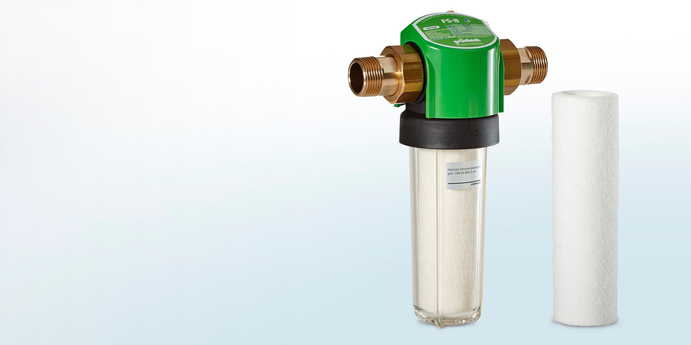 Filter cartridge for domestic water filter