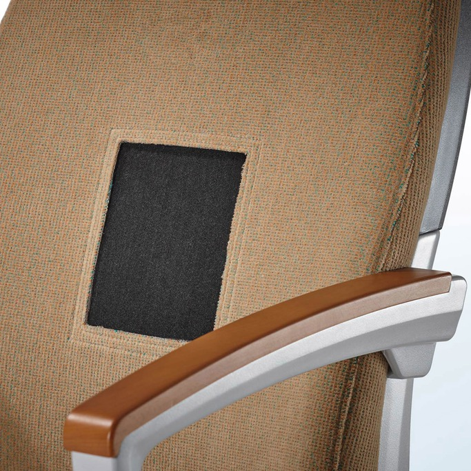 BWF Protec applications of technical needle felts e.g. railway seats