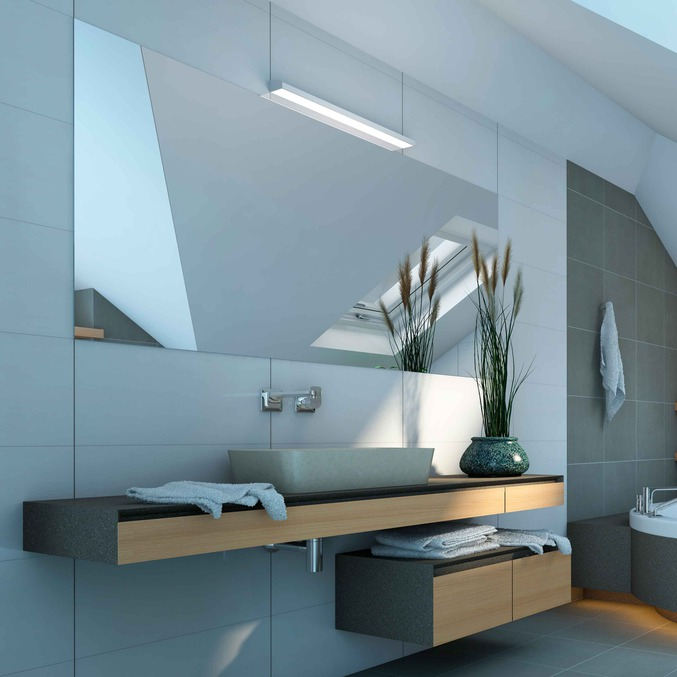 bathroom lighting plastic profiles