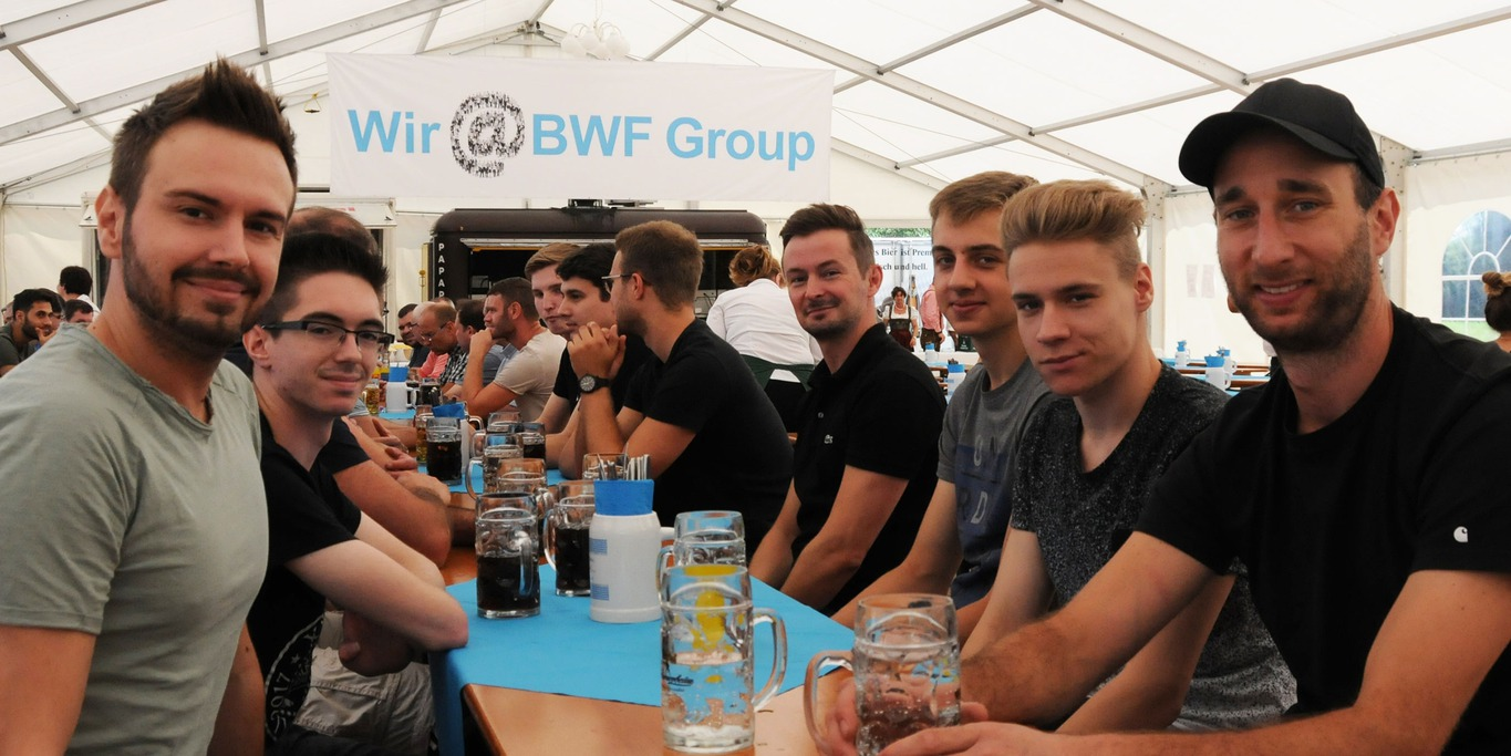 BWF Group Aktionstag Festzelt