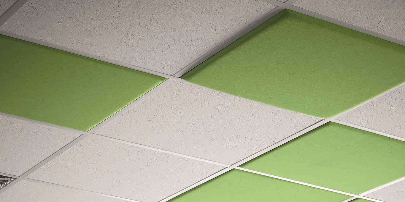 colorPAD ceiling panels acoustic