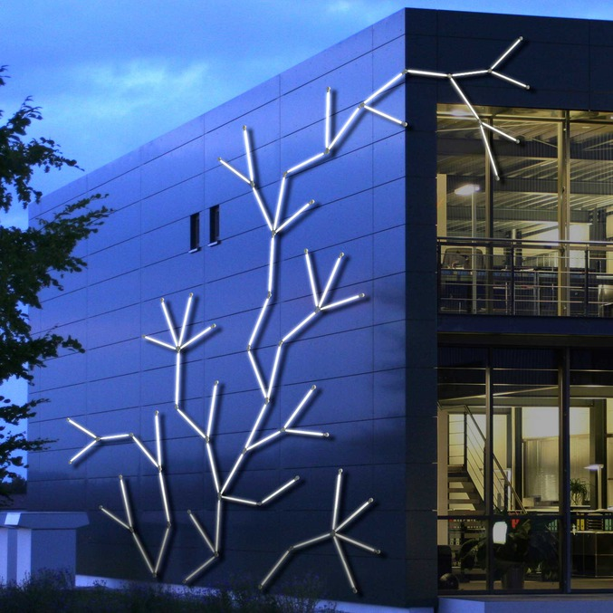 Plastic products lighting architecture and facades