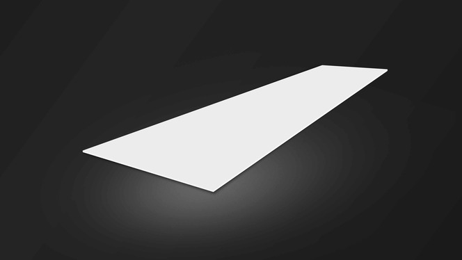 Light-diffusing plastic sheets