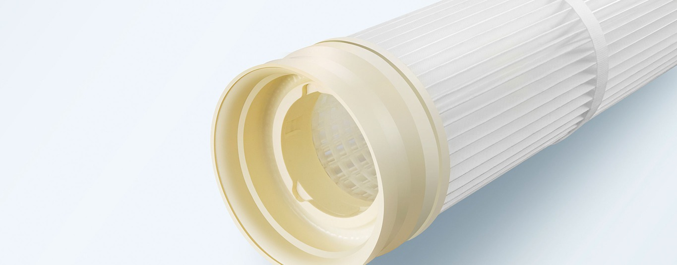 BWF Envirotec pleated filter element filtration