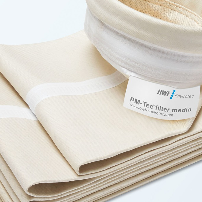 Filter bag pm tec needlefelt
