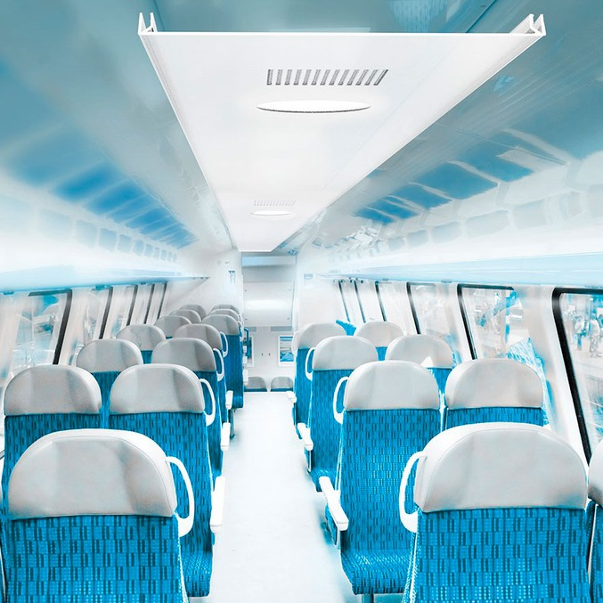 Plastic Products in trains public transportation