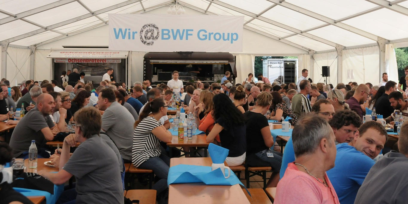 Wir@BWF Group Aktionstag in Offingen