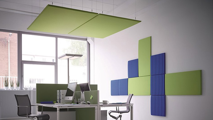 Acoustic panels for wall and ceiling