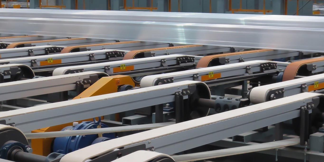 Endless belts and felt rolls for aluminium extrusion