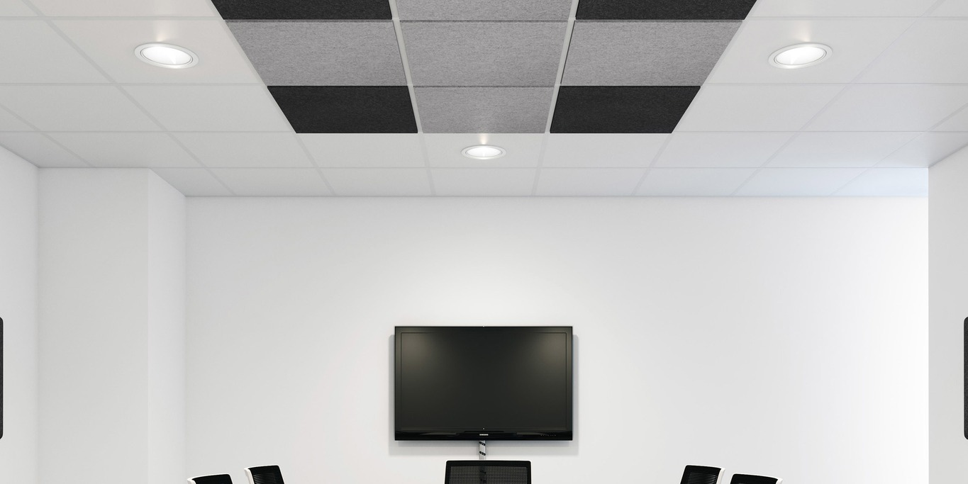 colorPAD meeting room ceiling panel